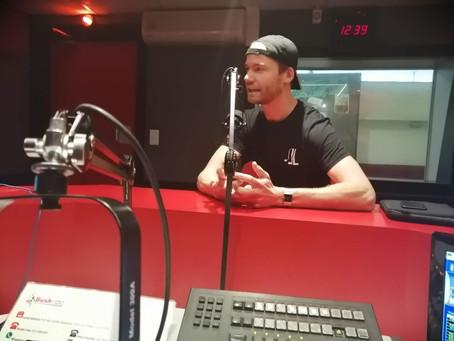 First Radio Interview
