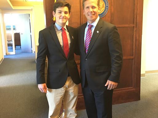 August 16, 2016: A Meeting with Congressman Robert Dold