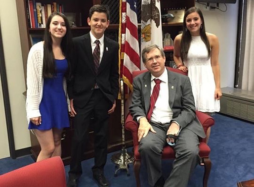 July 17, 2015: A Meeting with Senator Mark Kirk