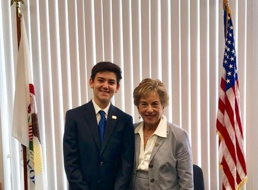 August 28, 2017: A Meeting with Congresswoman Jan Schakowsky