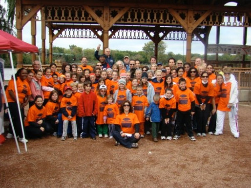 October 4, 2009: Step Out Walk for Diabetes