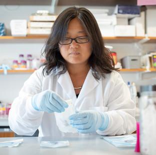 Our beloved Lab Manager, Qiaojuan!