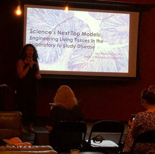 Ana does Science on Tap!