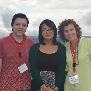 Student ambassadors and their international partners