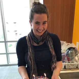 Binning contigs on her birthday!