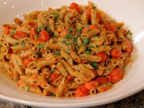 Tomato Gorgonzola Pasta