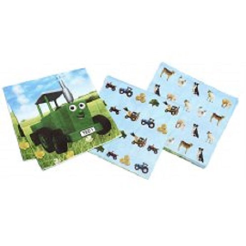 Tractor Ted Paper Napkins