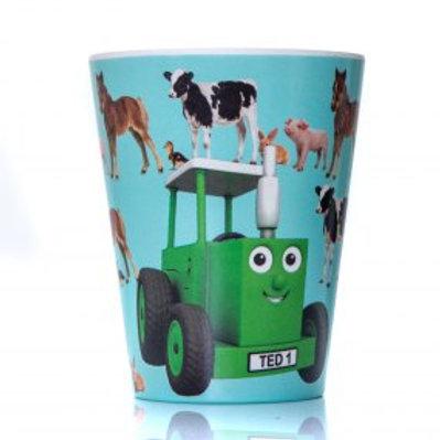Tractor Ted Baby Animals Bamboo Beaker