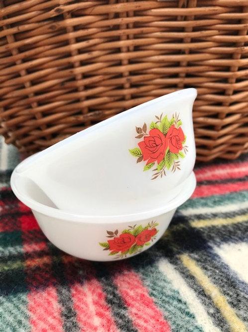 Vintage Opalware Bowls