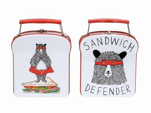 Sandwich Defender Tin - Jimbob Art