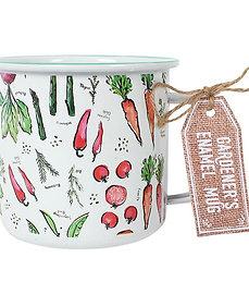 Enamel Garden Mug