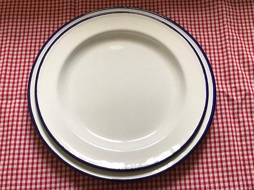 Vintage Enamel Plates, 1960's