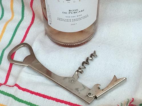 Vintage Corkscrew & Bottle Opener
