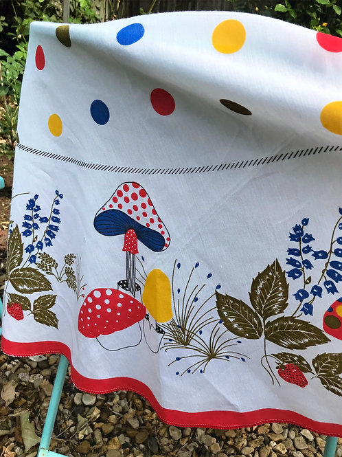 Vintage Woodland Tablecloth
