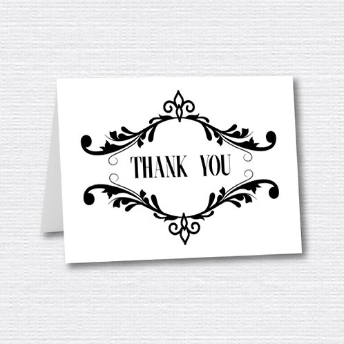 Framed Thank You (Set of 25)
