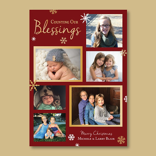 Counting our Blessings (Set of 25)
