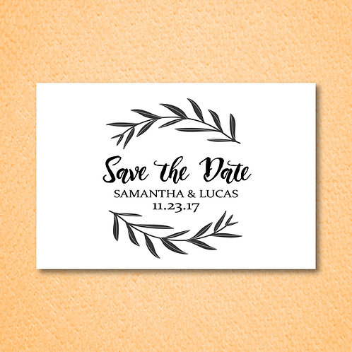 Branches Save the Date (Set of 25)