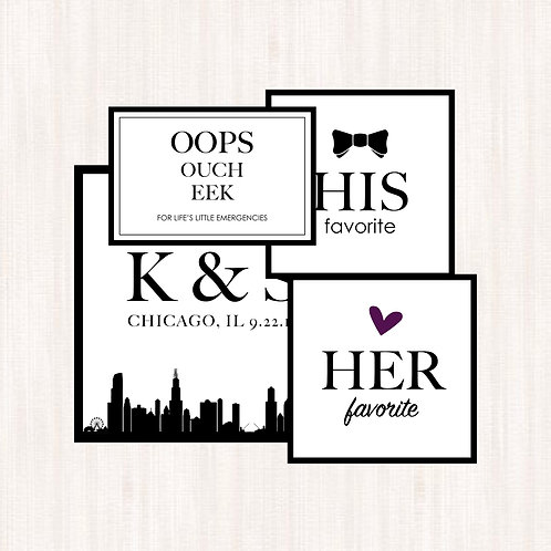 Wedding Stickers (Assorted)