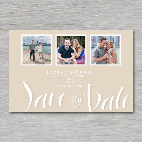 Square Photos Save the Date (Set of 25)
