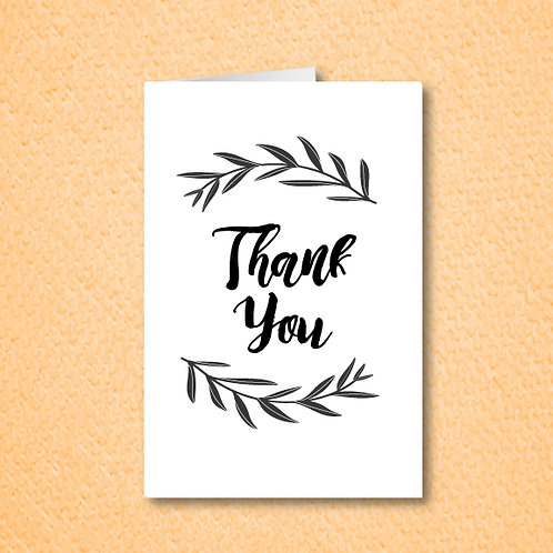Branches Thank You (Set of 25)
