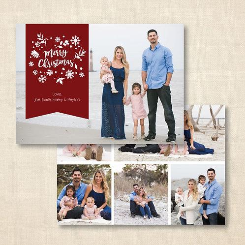 Christmas Photo Card (Set of 25)