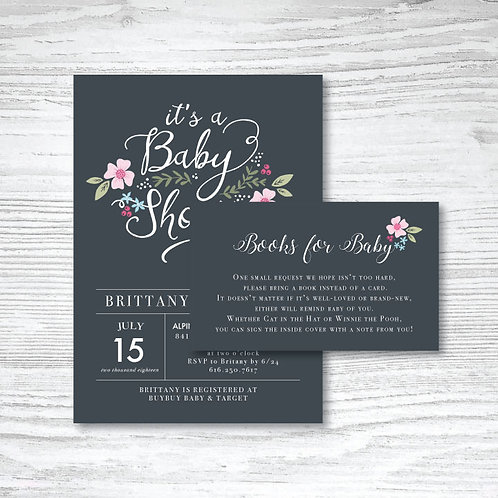Newhouse Baby Shower (Set of 60)