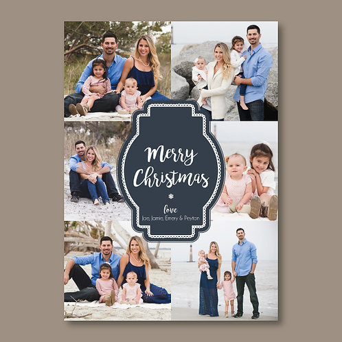 Christmas Collage Card (Set of 25)