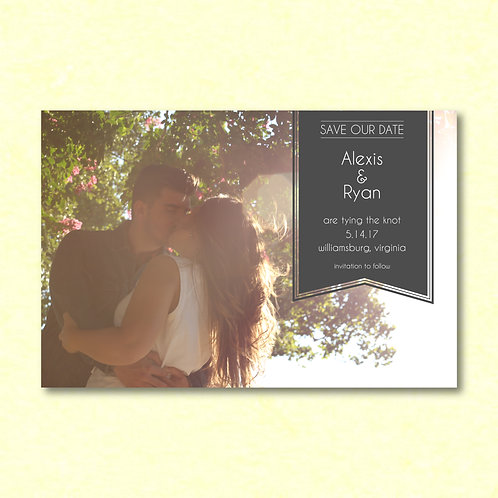Banner Save the Date (Set of 25)