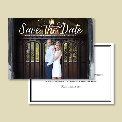 Kevin & Sam Save the Date (Set of 145)