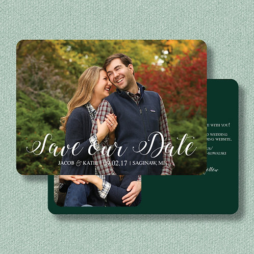 Katie & Jacob Save the Date (Set of 25)