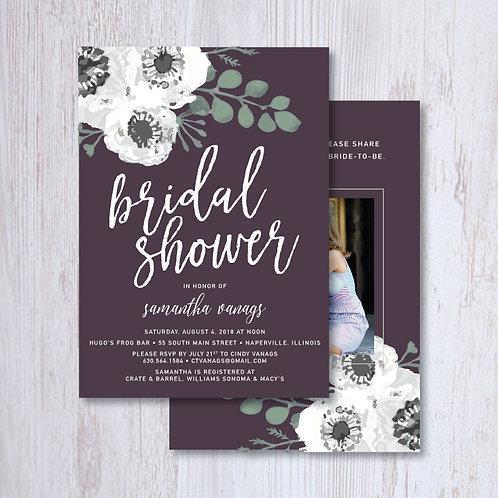 Vanags Bridal Shower (Set of 60)