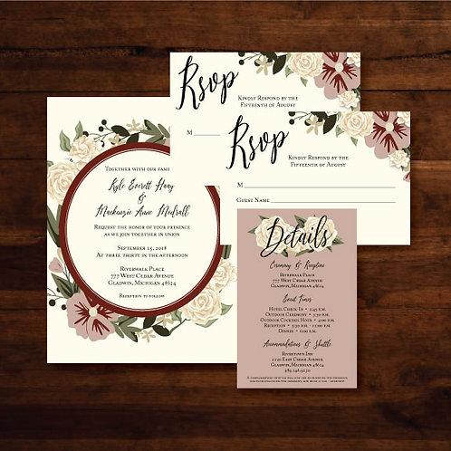 Modrall Wedding (Set of 25)
