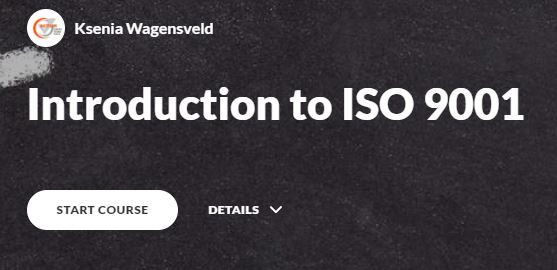 Introduction to ISO9001