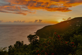 Sunset at Black Point