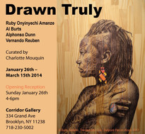 Drawn Truly at Corridor Gallery Jan. 26th - March 15th 2014