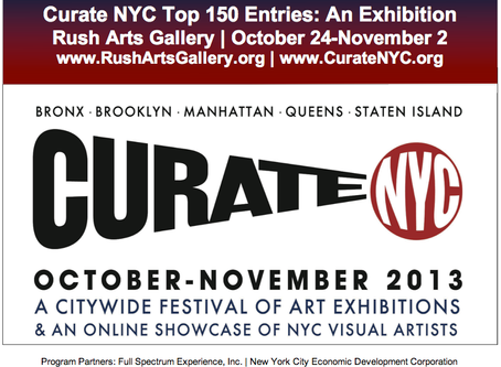 Curate NYC at Rush Arts Gallery Wrap Up