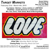 TARGET MARKETS - At Sensei Gallery