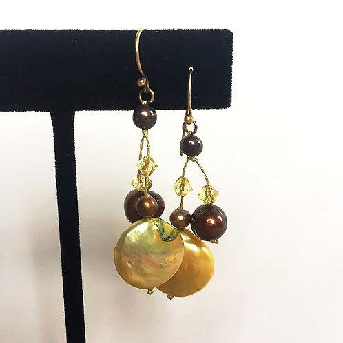 Golden Pearl Drops