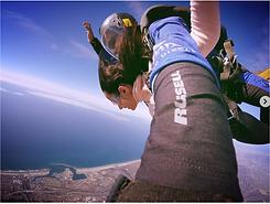 Exploring, sky diving