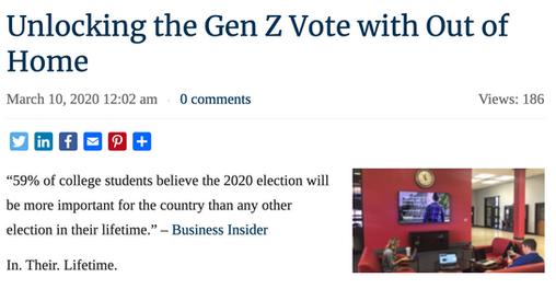 Article: Unlocking the Gen Z vote