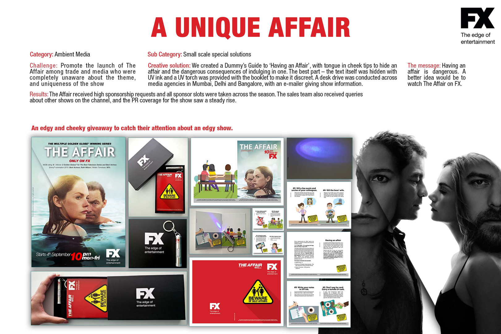The Affair trade marketing