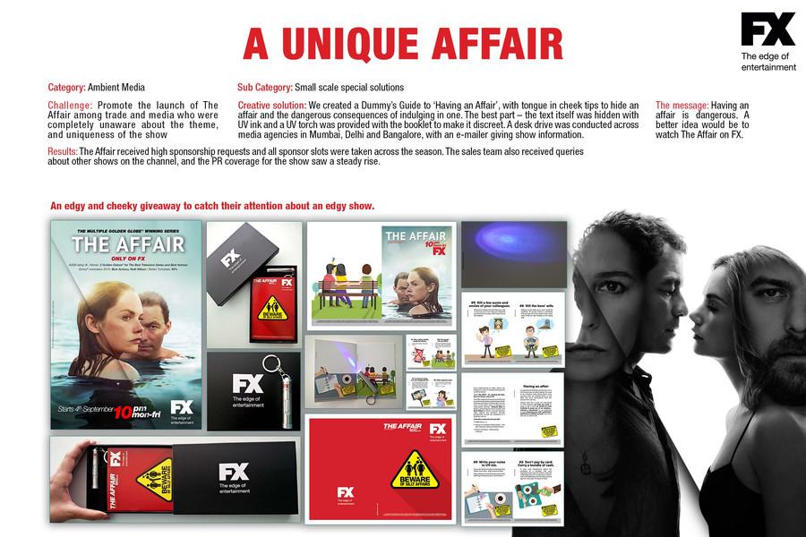 The Affair trade marketing