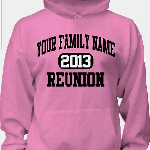 Customized Family Reunion Sweatshirt