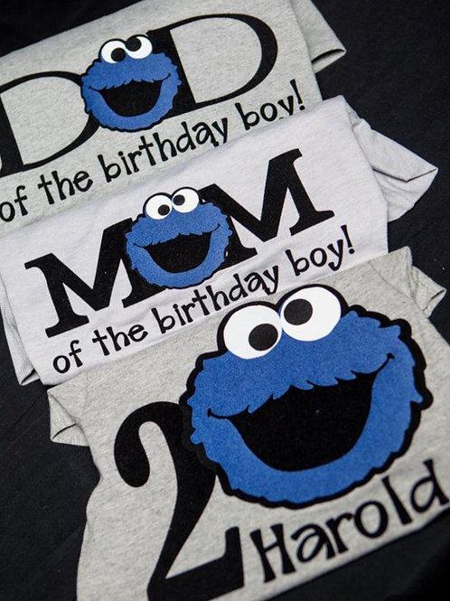 Elmo Birthday Party Tee