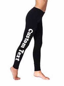 Customized Leggings