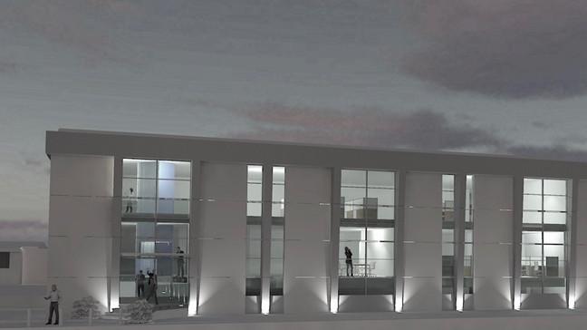 Ristrutturazione uffici - viste fotorealistiche degli esterni