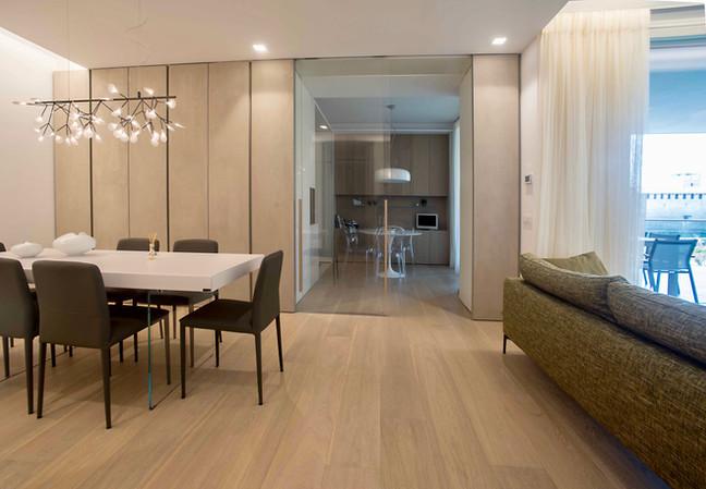 Zona soggiorno.... nuovo appartamento Verona, vista Adige - Castelvecchio