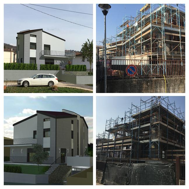Nuova costruzione di quattro appartamenti in Valpolicella
