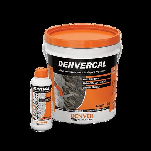 Aditivo plastificante para argamassa e reboco - Denvercal