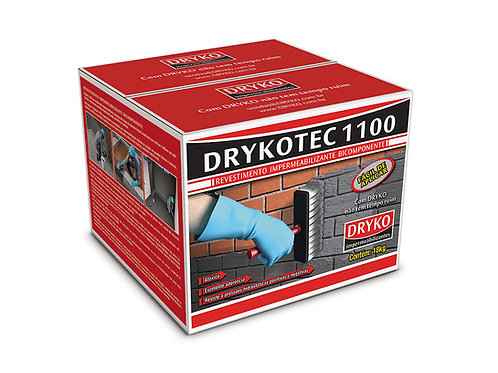 Argamassa Polimérica Semi-Flexível 18kg - Drykotec 1100